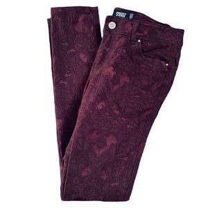 🌷SALE!🌷 Point Zero Pants Size 4 Damask Hearts